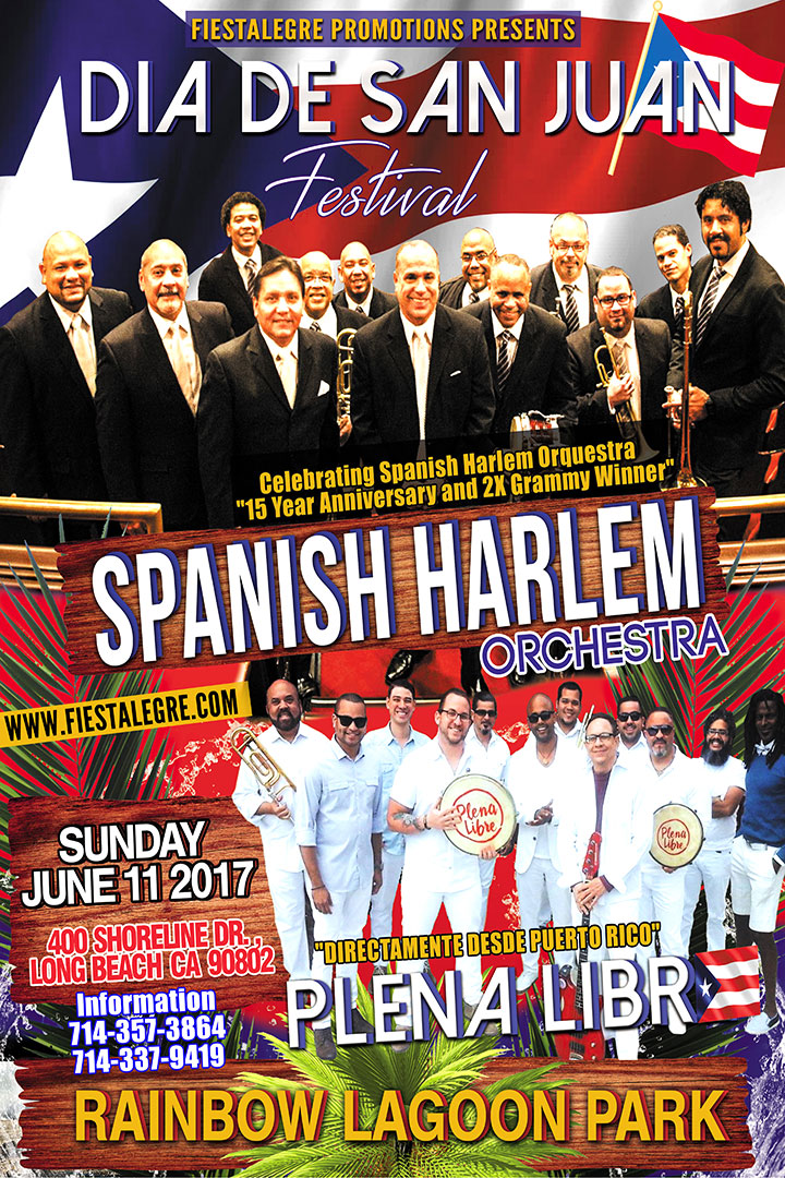 Fiestalegre presents Dia de San Juan Festival with The Spanish Harlem Orquesta